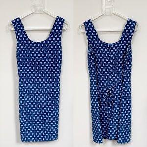 VTG Alyn Paige Floral Pattern Shift Mini Dress